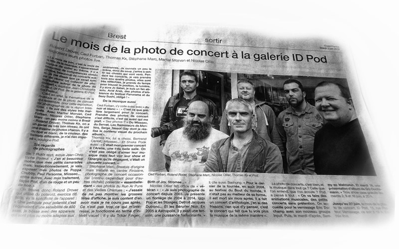 Forban-Photographie, Cédric DAUPHIN article Expo IdPod